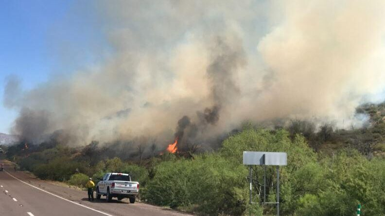 brush-fire-closes-sb-lanes-of-state-route-87-south-of-payson-–-azfamily