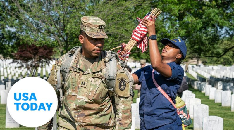 What the flag laying ceremony at Arlington National Cemetery means for one soldier   USA TODAY