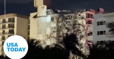 Miami oceanside condo building has partially collapsed | USA TODAY