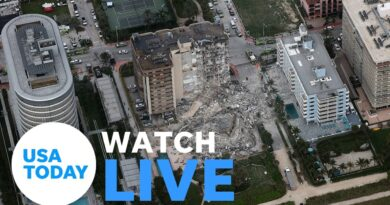 SURFSIDE CONDO COLLAPSE PRESS BRIEFING (LIVE)   USA TODAY