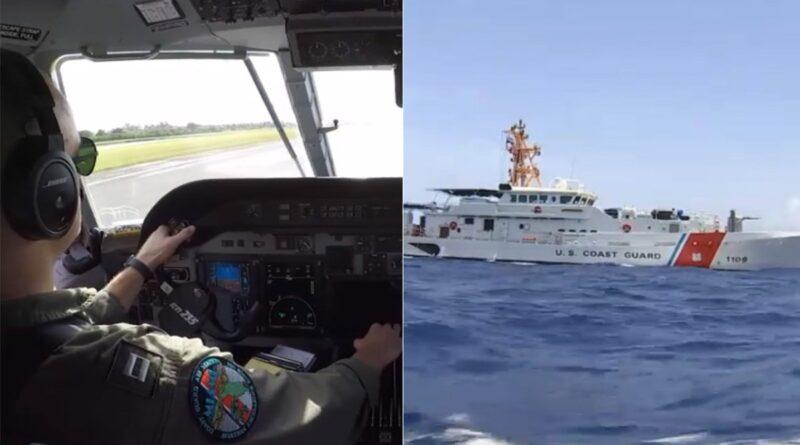 coast-guard-in-sky,-at-sea-monitoring-florida-straits-amid-cuba-protests-–-nbc-6-south-florida