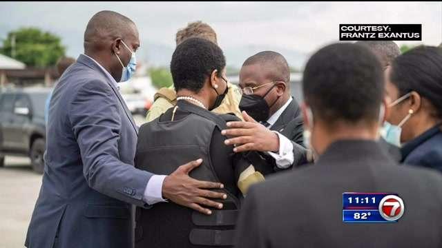 martine-moise,-wife-of-slain-president,-returns-to-haiti-–-wsvn-7news- -miami-news,-weather,-sports- -fort-lauderdale