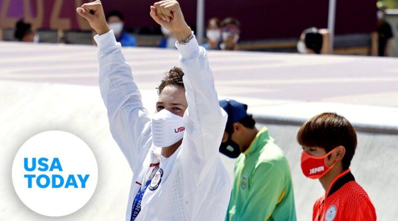 Jagger Eaton: Full bronze medal press conference, skateboarding | USA TODAY