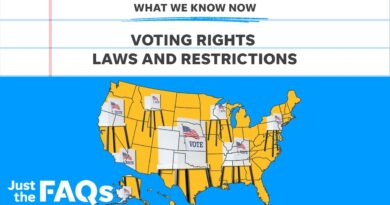 Voter restriction laws: Why Republican states are changing them   Just the FAQs