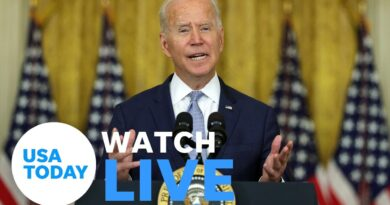 President Biden holds a briefing on the American withdrawal from Afghanistan (LIVE) | USA TODAY