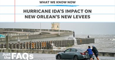 How New Orleans' levees are holding up against Hurricane Ida   Just the FAQs