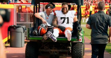 browns-tackle-wills-day-to-day-with-ankle;-obj-not-ready-–-miami-herald