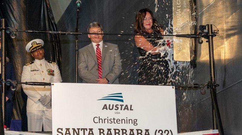 austal-usa-christens-lcs-32,-the-future-uss-santa-barbara-–-al.com